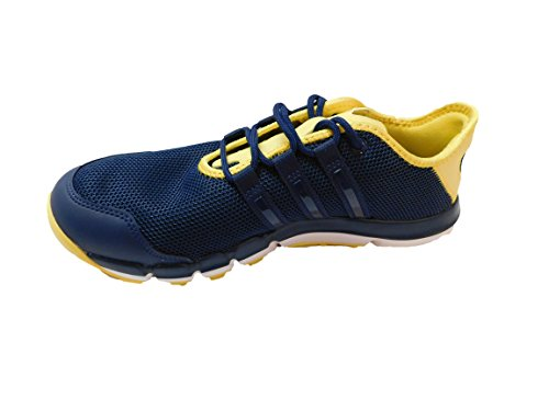 AD Adidas Men's Climacool Motion Navy/Yellow Size 11M - F33528 by AD