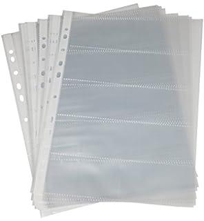 Visitenkartenhüllen F Arc Transparent Din A5 5 Hüllen 23184
