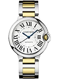 Ballon Bleu Unisex Steel and Gold Watch W6920047
