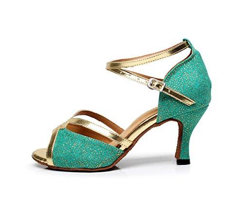 Minitoo - Chaussures De Danse Pour Femmes Argent Plaqué g0vGq8QQ