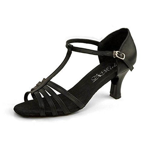 Dimichi - Sandalias De Calzado De Salón Kiki, De Cuero, Multiescaras Y Punta Abierta Para Adulto