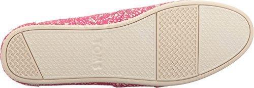 Shoe Watches Children (TOMS Seasonal Classics Fuchsia Shibori Dots Women's Slip on Shoes)