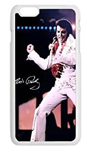 BUTUKU Elvis Presley custom Apple Iphone 6 plus Case Cover Hard Protective Plastic Fitted Case 5.5 inch