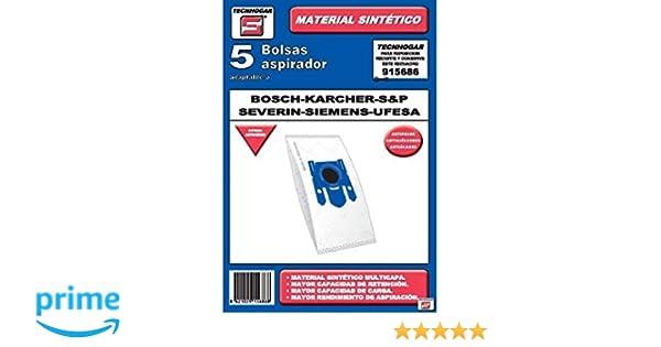 Tecnhogar 915686 Bolsa aspirador, Blanco