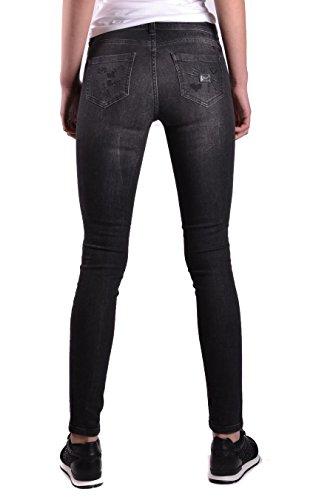 PHILIPP WDT0656PDE001N10NS Donna Nero Jeans PLEIN Cotone UqUwW46T