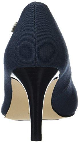 Tommy Hilfiger L1285isette 1d, Zapatos de Tacón para Mujer Azul (Midnight 403)