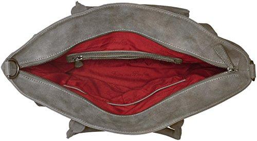 Fritzi aus Preußen Ivett - Bolso de hombro Mujer Grau (Metal1)