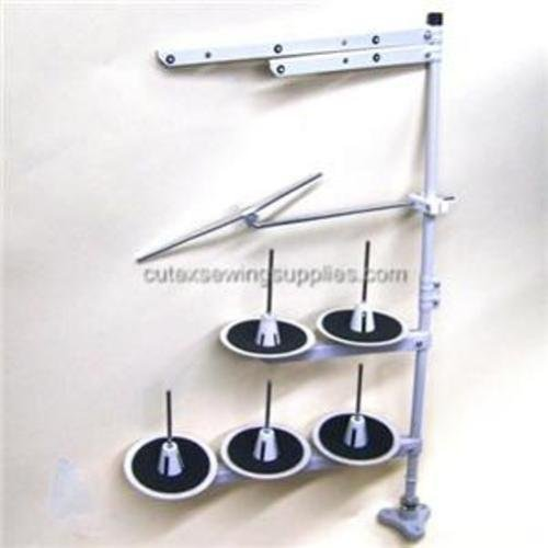 Industrial Sewing Machine Overlock 5-Spool Thread Stand Cutex 1