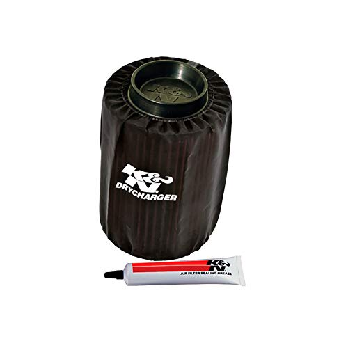 K&N PL-8007DK Black Drycharger Filter Wrap - For Your K&N PL-8007 Filter