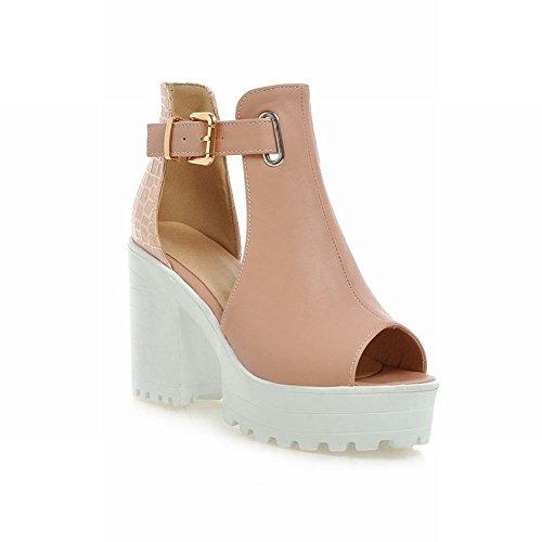 Show Shine Fashion Platform Sandals