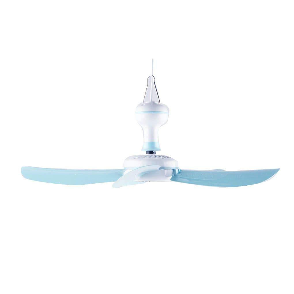 Meisijia Estate 5-Foglia Dormitorio Mini Ventilatore a soffitto PP Centro di Rame Risparmio energetico Muto Silenzio Breeze Hanging Fan