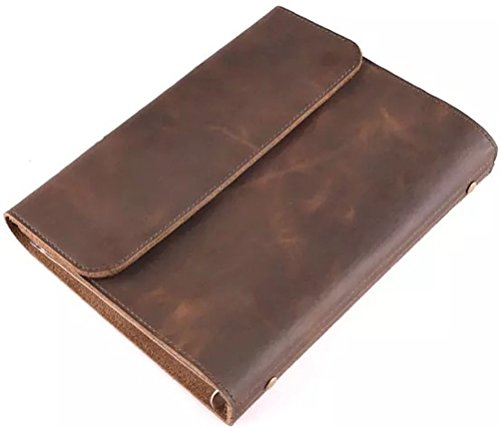 Extra Large Size: 11 X 8.3, Or 28CM X 21CM Thick Genuine Leather Journal, A Handmade Refillable Binder Executive Business Notebook, Padfolio, Portfo…