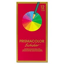 Prismacolor Products - Prismacolor - Scholar Colored Woodcase Pencils, 12 Assorted Colors/Set - Sold As 1 Set - Smooth, creamy texture and richly pigmented colors. - Designed to handle detailed work for advanced student artists and crafters. - Artist-quality. by SANFORD