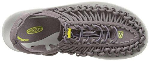 Keen Uneek, Women's Low Trekking and Walking Shoes Shark/Sulphur Spring