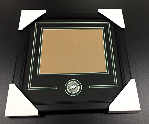 PHILADELPHIA EAGLES Medallion Frame Kit 8x10 Photo Double Mat HORIZONTAL ()