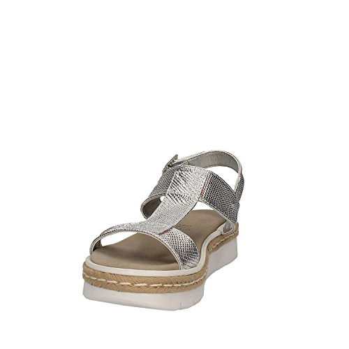 SHOES Sandalen GRACE Frauen 63435 Silber qUwd6SF