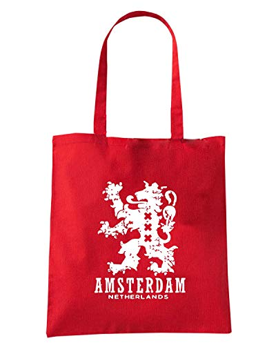 Speed Shirt Borsa Shopper Rossa TSTEM0222 AMSTERDAM NETHERLANDS