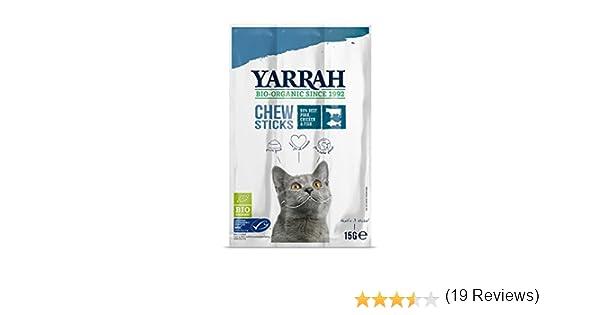 Yarrah Gato Sticks Con Pescado Y Espirulina 25X15Gr. Bio 1 Unidad ...
