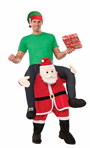 Forum Men's Special Delivery From Santa Costume, Multi, One Size