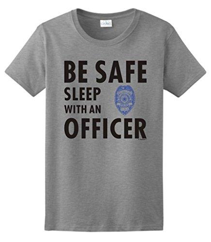 Sleep Officer Police Ladies T Shirt
