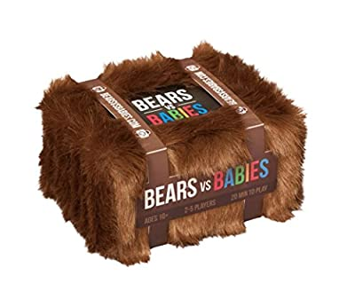 Bears vs Babies: A Card Game From the Creators of Exploding Kittens from Ad Magic Inc.