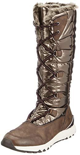 da 26634 403 21 caffè Comb Snow Tozzi Brown Boots donna Marco YqxR5wF