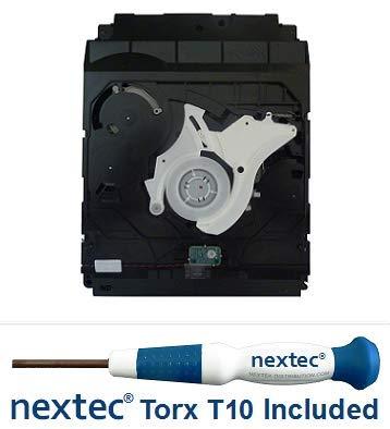 Sony PS3 Bluray Drive - 20, 40, 60 GB Models - (KES-400A/ KEM-400AAA Laser) + Nextec Torx T10 Screwdriver by nextec