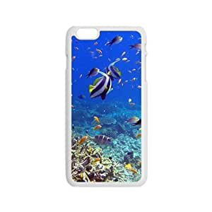 DavidMBernard Snap On Hard Case Cover Live Fish Android Protector For Iphone 5/5s