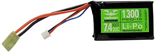 HRB 2S 7.4V 1200mah 25C-50C Lipo Battery Airsoft Tamiya for
