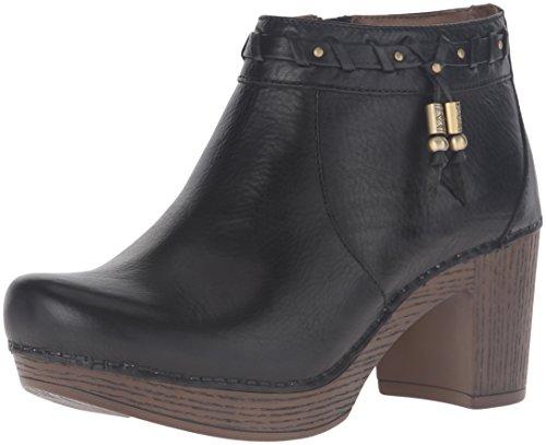 Dansko Womens Boot Dabney Nero Pieno Fiore