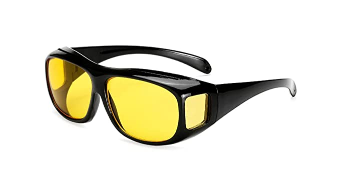 KINLOU Hombres y Mujeres Ajuste Sobre las Gafas de sol ...