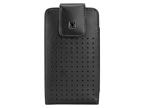 Cellet Teramo Premium Leather Case W/Fixed Heavy Duty 360 Swivel Clip for HTC One M8/M9, Samsung Galaxy S6/S6 edge/7/, iPhone 6/6s