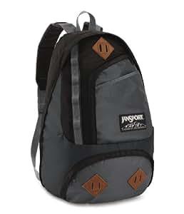 Jansport mochila powder Horn, Grey Tar/Forge Gris, 50 x 32 x 25, 28 litros, TXU2