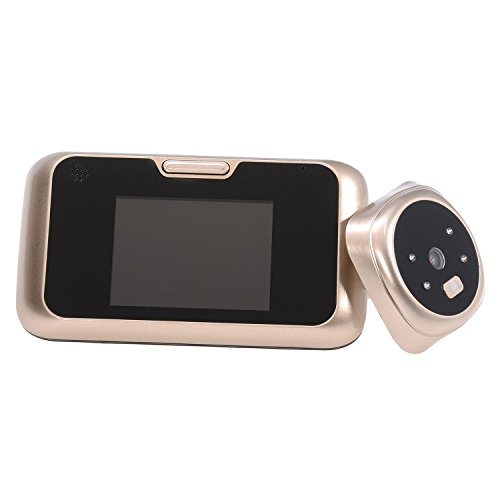 SODIAL(R) 3.2-inch peephole TFT LCD HD digital doorbell viewer doorbell security camera door peephole cat's - Security Cat Eye