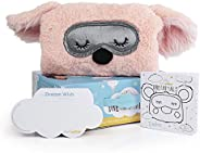 DREAMIMALS, The Dream Pillow- Stuffed Plush Childrens Toy Pillow With Dream Pocket And 60 Dream Wishes for Better Bedtime -