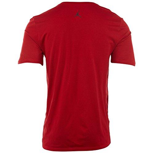 Jordan Aj 12 Ill Tee Hommes Gym Rouge / Noir