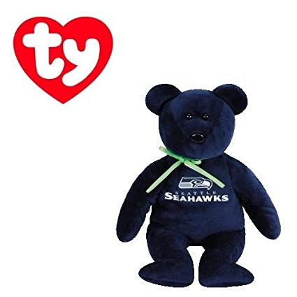 Image Unavailable. Image not available for. Color  Ty Beanie Baby Seattle  Seahawks Football Bear 01ede8b2e