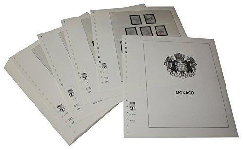 Lindner T Vordruckblätter T186 86 Monaco - Jahrgang 1986 bis 1991