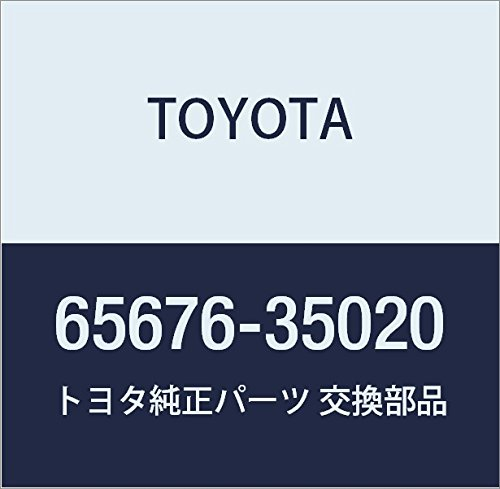 - Genuine Toyota 65676-35020 Wheel House Seal