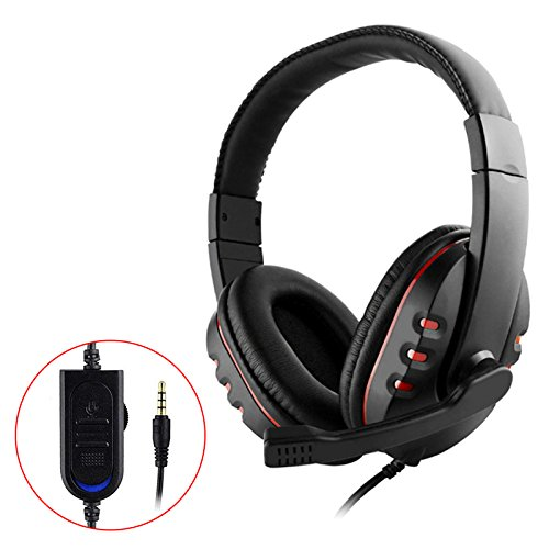 EEEkit Stereo Gaming Headset for PS4, PC, Noise Cancelling O