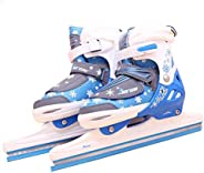 Skate, Warm Ball Knife Shoes Comfortable Breathable Retractable Skate Shoes Children Adult Speed Skates