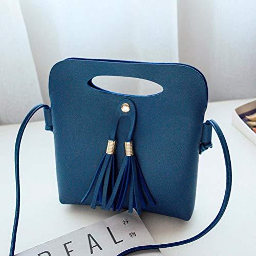 showsing Crossbody para Azul Negro Hombro al Small Bolso Mujer Bags ppdxq1wSr