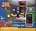 Buildable Locker Set FC Barcelona Messi 95 Pieces