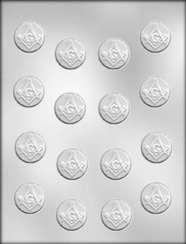 (CK Products 1-1/8-Inch Masonic Mint Chocolate Mold)
