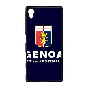 Universal Sony Xperia Z5 Case, Genoa Cricket Mark Phone Case Prevdent Elegant Genoa Cricket Logo Back Cover Snap on Sony Xperia Z5