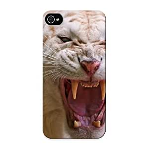 Travers-Diy Diy Yourself premium cell phone case cover For Iphone 5/5s/ Albino Tiger case 8ajswngzg1s cover