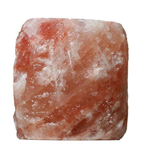 NaturGut Kristallsalz Teelicht naturell 4St Teelichthalter aus einem Vorgebirge des Himalaya//Punjab//Pakistan
