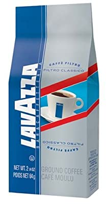 Lavazza Filtro Classico Pre-portioned Coffee, Ground 6 Pack