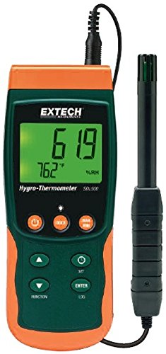 Extech SDL500 Hydro-Thermometer SD Logger (Thermocouple Adjustable)