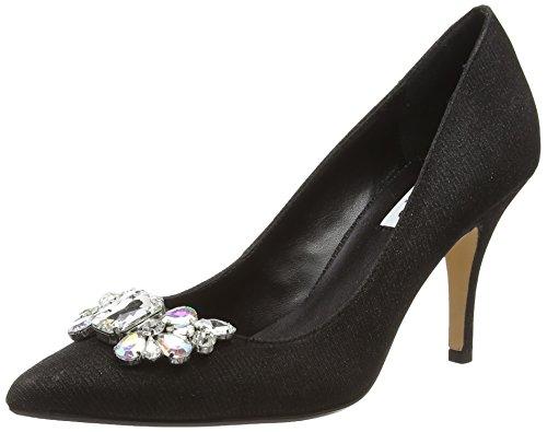 DuneBella - Zapatos de tacón mujer negro - negro